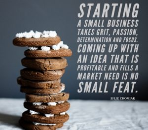 Food entrepreneur quote